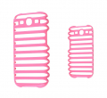 Ally Galaxy S3 İ9300 Yeni Nesil 3d Step Sert Plastik Kılıf