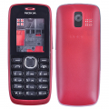 Nokia 112 Full Kasa-kapak-tuş Kırmızı