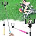 Monopod Z07s Uzatılabilir Kablolu Özçekim.Selfie Aparatı