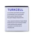 Turkcell T21maxiplus Kalite Pil Batarya