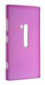 Nokia Lumia 920 Ultra İnce Şeffaf Kılıf Fuşya