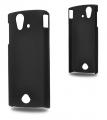 Sony Xperia Ray St18i Sert Plastik Kılıf Siyah