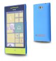 HTC WİNDOWS PHONE 8S SERT PLASTİK KILIF TURKUAZ