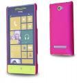 HTC WİNDOWS PHONE 8S SERT PLASTİK KILIF FUŞYA