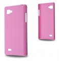 LG OPTİMUS 4X HD P880 SERT PLASTİK KILIF PEMBE