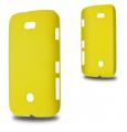 Nokia Lumia 510 Sert Plastik Kılıf Sarı