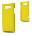 LG OPTİMUS L7 P700-P705 SERT PLASTİK KILIF SARI