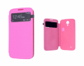 ALLY GALAXY S4 İ9500 S VİEW COVER KILIF PEMBE