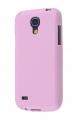 Ally Galaxy S4 Mini İ9190 Ultra Koruma Silikon Kılıf Pembe