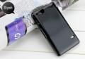 Sony Xperia Go St27i Ultra Koruma Silikon Kılıf Siyah