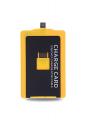 Ally Charge Card Micro Usb Kablo Sarı - Siyah
