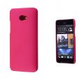 HTC BUTTERFLY S SERT PLASTİK KILIF FUŞYA