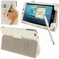 Ally Galaxy Tab 3 (8.0) Tablet Deri Stand Kılıf