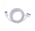 Ally Galaxy Tab1-tab2-tab3 Usb Kablo 3metre Beyaz