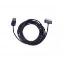 Ally Galaxy Tab1 - Tab2 - Tab3 Usb Kablo 3metre Siyah