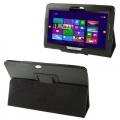 Ally Acer Iconia Tab W510 Tablet Deri Stand & Kılıf