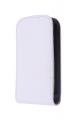 Ally Galaxy Y S5360 Beyaz Kapaklı Kılıf