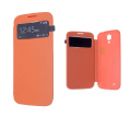 ALLY GALAXY S4 İ9500 S VİEW COVER KILIF TURUNCU