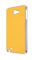 Ally Galaxy Note N7000-i9220 Sarı Tırtıklı Deri Kılıf