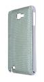 Ally Galaxy Note N7000-i9220 Yeşil Full Taş İşlemeli Parlak Metal Kılıf