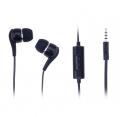 Ally Bsb 125n D880 Stereo Kulaklık Mikrofonlu Universal Eski Modeller - 3.5mm Jack -Siyah