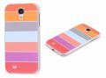 Ally Galaxy S4 İ9500 Turuncu Ve Gri Renkli) Silikon Şeffaf Kılıf