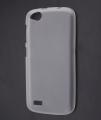 General Mobile Discovery Ultra İnce Silikon Kılıf Beyaz /şeffaf