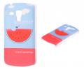 Ally Galaxy S Duos Gt S7562 Karpuz Desenli Plastik Kılıf