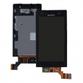 Sony Xperia U St25i Dokunmatik Lcd Ekran Ve On Panel