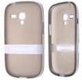 Ally Galaxy S3 Mini İ8190 Standlı Silikon Kılıf