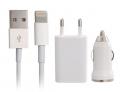 Ally 3in 1 İphone 6 Ve 6plus Ve 5s Ve 5c Uyumlu Usb Araç Ve Şarj Başlık