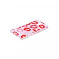 Htc Desire 500 Öpücük Desenli Plastik Kılıf