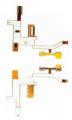ALLY S5230-S5233 YAN TUŞ VE EKRAN FİLM FLEX CABLE