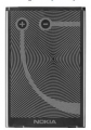 Nokia E6 E61 E62 N92, N800 7710 9500 770 Pil