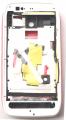 Nokia 603 Pembe+beyaz Full Kasa-kapak-tuş
