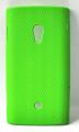 Sony Ericsson Xperia X10 Nokta Desenli Rubber Kılıf