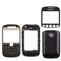 Blackberry Curve 9220 Siyah Full Kasa Kapak Tuş