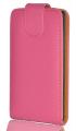 HTC ONE S A315C PEMBE KAPAKLI KILIF