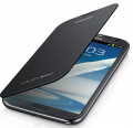 Ally Galaxy Note 2 N7100 Flip Cover Kılıf Siyah