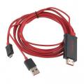 MHL MİCRO USB HDMI ADEPTOR HDTV ADEPTOR KABLO