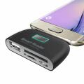 ALLY SONY LG HTC MİCRO USB OTG + KART OKUYUCU