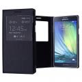 Ally Samsung Galaxy A7 İçin Pencereli Flip Cover Kılıf