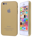 Ally Apple İphone 5,5s Gold Sert Plastik Kılıf