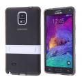 Ally Galaxy Note 4  Standlı Şeffaf Silikon Kılıf
