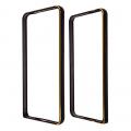 Ally Samsung Galaxy Grand Prime G530 İçin Metal Bumper Çerçeve Kılıf