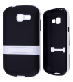 Galaxy Trend Duos S7390-7392 Standlı Silikon Kılıf