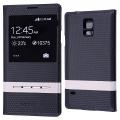 Ally Galaxy S5 İ9600 G900 Pencereli Flip Cover Kılıf