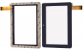 Ju-Q8.66 7 İnch Tablet Dokunmatik