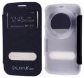Ally Galaxy S5 Zoom Pencereli Flip Cover Kılıf