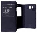 Galaxy Alpha G850f Mıknatıs,Stand Ve Pencereli Flip Cover Kılıf